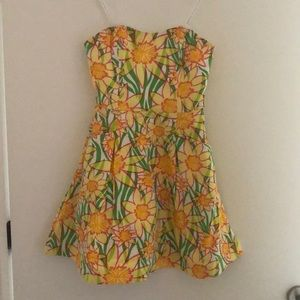 Lilly Pulitzer sunflower dress